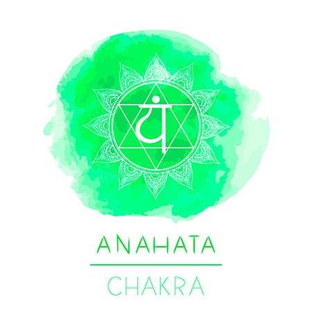 Anahata chakra verde