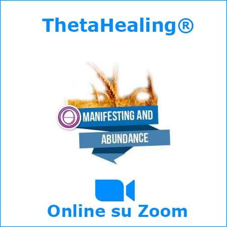 manifestazione e abbondanza theta healing corso