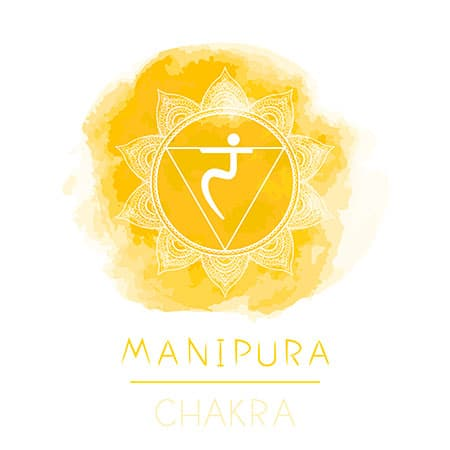 Manipura chakra giallo