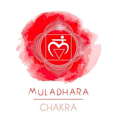 Muladhara chakra rosso