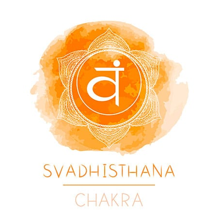 svadhisthana chakra arancio