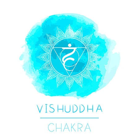 vishuddha chakra azzurro