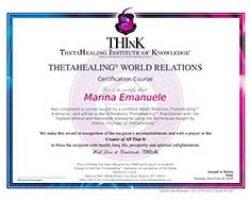 attestati relazioni con il mondo